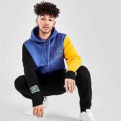 Men's Nike Sportswear Club Fleece DNA Peace Sign Hoodie