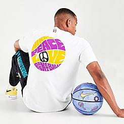 Men's Nike Peace Love Basketball T-Shirt