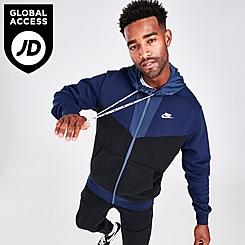 Men's Nike Sportswear Hybrid Fleece Full-Zip Hoodie