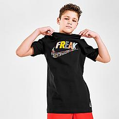 Kids' Nike Giannis Freak Alphabet T-Shirt