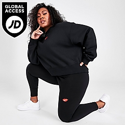 Women's Nike Sportswear Lips Swoosh Leggings (Plus Size)