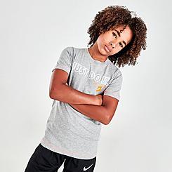 Boys' Nike Sportswear Just Do It Outline T-Shirt