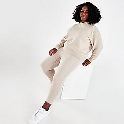 Women's Nike Sportswear Collection Essentials Fleece Pants (Plus Size)