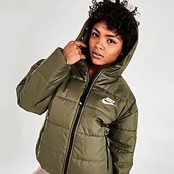 Women's Nike Sportswear Therma-FIT Repel Hooded Classic Puffer Jacket