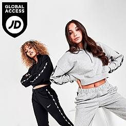 Women's Nike Sportswear Essential Tape Half-Zip Fleece Crop Sweatshirt