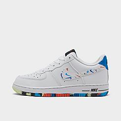 Boys' Little Kids' Nike Force 1 LV8 3 Casual Shoes