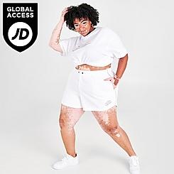 Women's Nike Sportswear Essential Futura Bike Shorts (Plus Size)