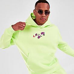 Men's Nike Sportswear Club Logo Twist Fleece Pullover Hoodie