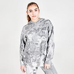 Women's Nike Sportswear Reverse Dye Fleece Pullover Hoodie