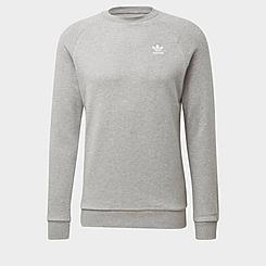 Men's adidas Originals LOUNGEWEAR Trefoil Essentials Crewneck Sweatshirt