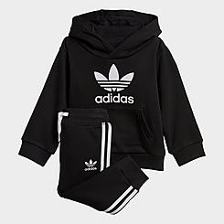Kids' Toddler adidas Originals Trefoil Pullover Hoodie and Jogger Pants Set