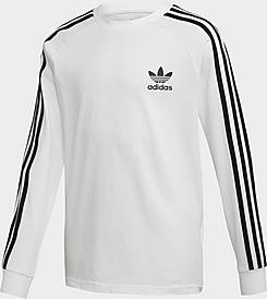 Kids' adidas Originals 3-Stripes Long-Sleeve T-Shirt