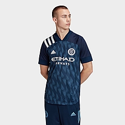 Men's adidas New York City FC Away Authentic Soccer Jersey