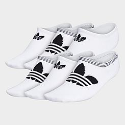Women's adidas Originals Trefoil Superlite Super No-Show Socks (6-Pack)