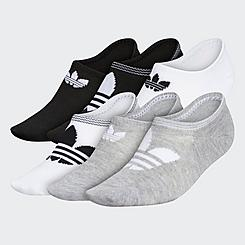Women's adidas Originals Trefoil Superlite 6-Pack Super No-Show Socks