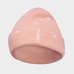Women's adidas Originals Allover Print Embroidery Beanie Hat