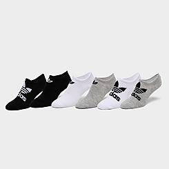 adidas Originals Classic Superlite Super-No-Show Socks (6-Pack)