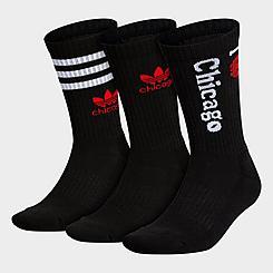 adidas Originals Chicago Crew Socks (3-Pack)