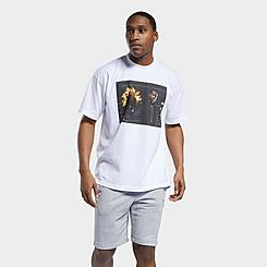 Men's Reebok Allen Iverson Fire Photo T-Shirt