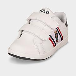 Boys' Toddler Polo Ralph Lauren Oaklynn Bear Faux-Leather Casual Shoes