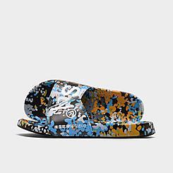 Men's Superdry Printed Beach Slide Sandals