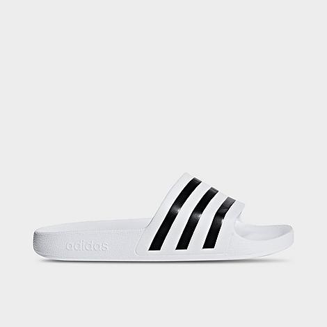 Adidas Originals Slides ADIDAS MEN'S ADILETTE AQUA SLIDE SANDALS