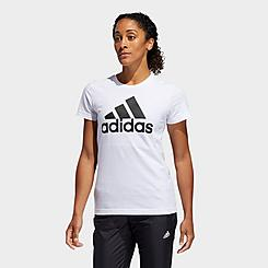 Women's adidas Essentials Badge of Sport T-Shirt