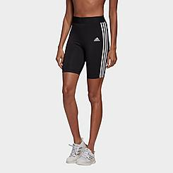 Women's adidas Athletics Must Haves 3-Stripes Bike Shorts