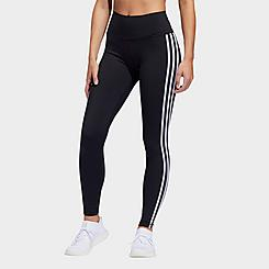 Women's adidas Believe This 2.0 3-Stripes Cropped Training Leggings