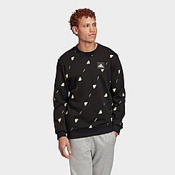 Men's adidas Must Haves Graphic Crewneck Sweatshirt