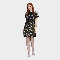 Women's adidas Originals Allover Print Tee Dress