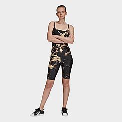 Women's adidas Originals Tie-Dye Allover Print Bodysuit