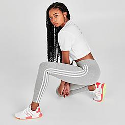 Women's adidas Originals 3-Stripes Trefoil Leggings