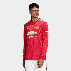 Men's adidas Manchester United Home Long-Sleeve Soccer Jersey