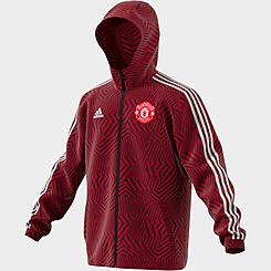 Men's adidas Manchester United Soccer Windbreaker Jacket