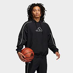 Men's adidas Harden Cross-Up Hoodie