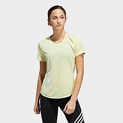 Women's adidas Run It 3-Stripes Fast T-Shirt