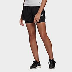Women's adidas Marathon 20 Two-In-One Running Shorts