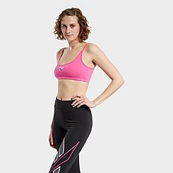 Women's Reebok Small Logo Low-Impact Sports Bra