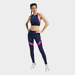 Women's Reebok Workout Ready Mesh Training Tights