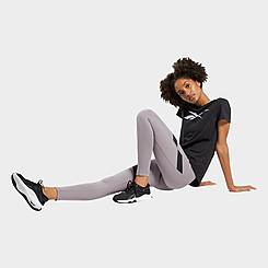 Women's Reebok Workout Ready Mesh Training Tights