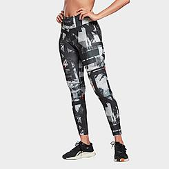 Women's Reebok Workout Ready MYT Printed Training Tights