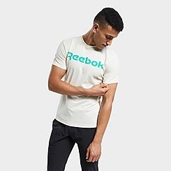 Men's Reebok Graphic Series Linear Logo T-Shirt