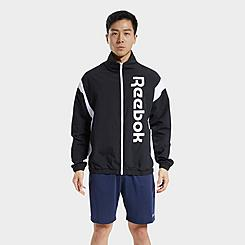 Men's Reebok Training Essentials Linear Logo Windbreaker Jacket