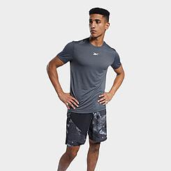Men's Reebok Workout Ready Melange T-Shirt