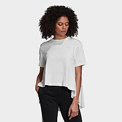 Women's adidas Originals Pleated T-Shirt
