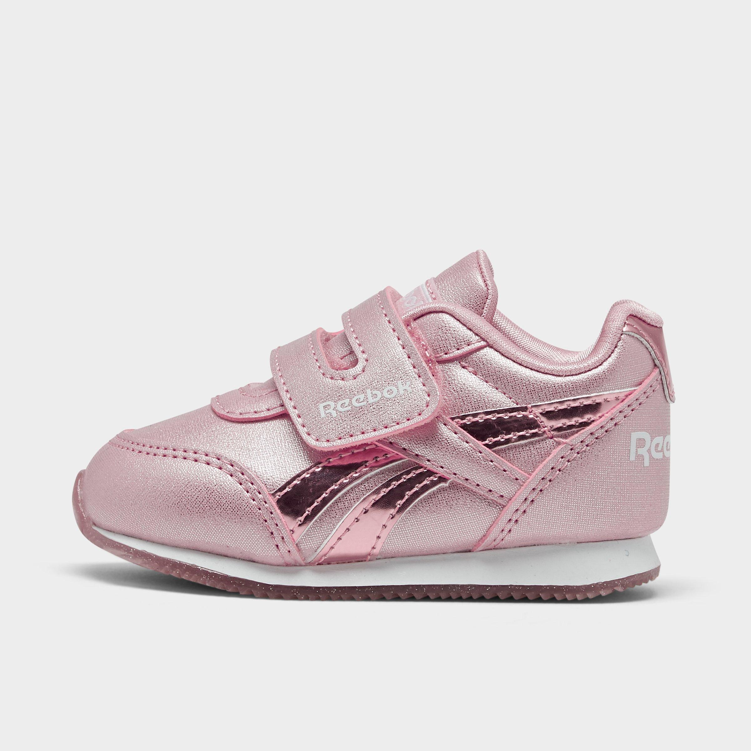 White//Pink//Cool Bree Leather Hi-Top Shoes REEBOK V63067 FREESTYLE II Girl/'s M