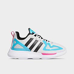 Girls' Little Kids' adidas Originals ZX 2K Flux Running Shoes