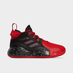 Boys' Big Kids' adidas D Rose Basketball Shoes