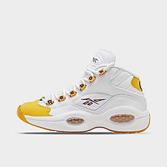 Boys' Big Kids' Reebok Question Mid Basketball Shoes